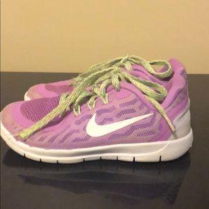 Purple kids Nike